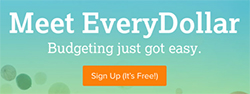 Meet EveryDollar - Sign Up It's Free!